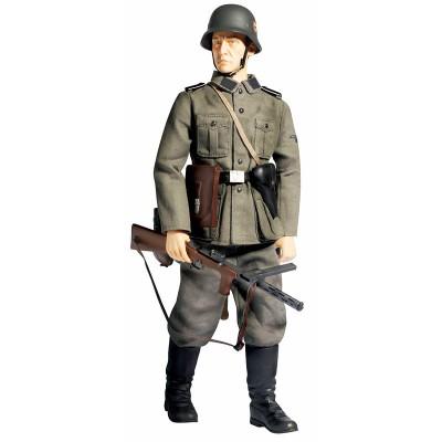 Модель - фигура Lothar Kroh солдата 1 батальона 1-й танковой дивизии СС «Лейбштандарт адольф Гитлер», Dragon