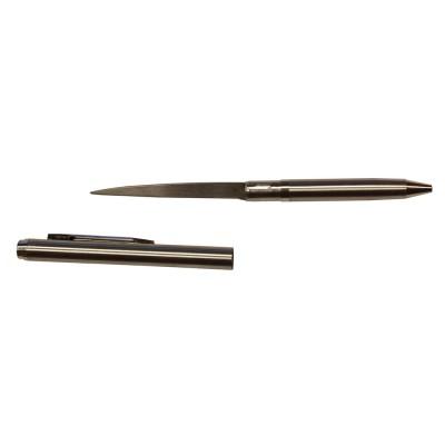 Тактическая ручка - нож (серебристый)