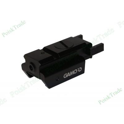 Пистолетный лазерный целеуказатель GAMO с планкой weaver