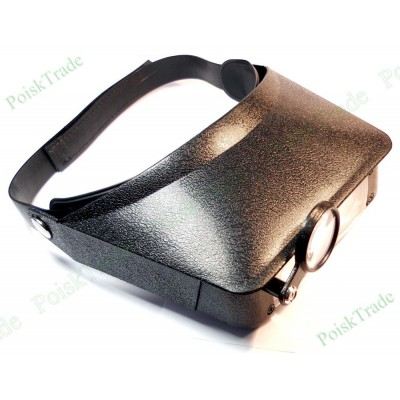 Бинокулярная лупа очки с дополнительной линзой ЛПГЧ_2,3-4,8