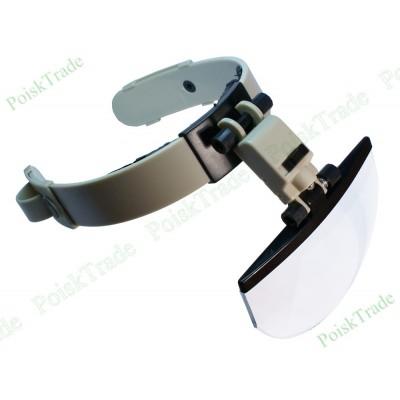 Налобная лупа очки со съемными линзами ЛПГБ 2-5.5x