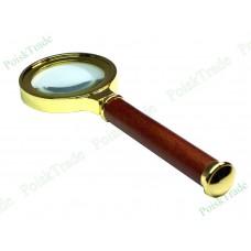 Лупа подарочная (деревянная ручка) 6х36