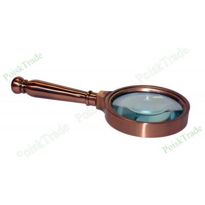 Подарочная лупа (металлическая) ЛММ_8-10х70