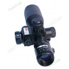 Оптический прицел Gamo 2.5-10x40 с ЛЦУ