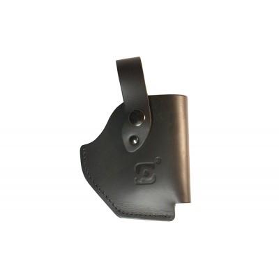 Кобура из кожи для аэрозольного устройства Премьер (черный)