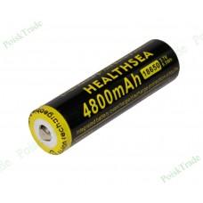 Перезаряжаемый литий-ионный аккумулятор HEALTHSEA LC 18650 (3.7В 4800 мАч)