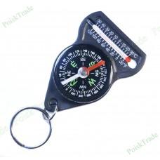 Брелок - компас с термометром