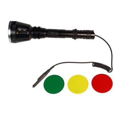 Фонарь Поиск Р-Q3888 (Тактический, три светофильтра)