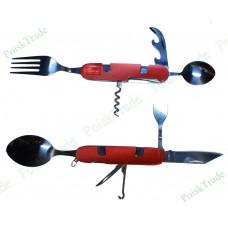 Универсальный раскладной туристический нож 9 в 1