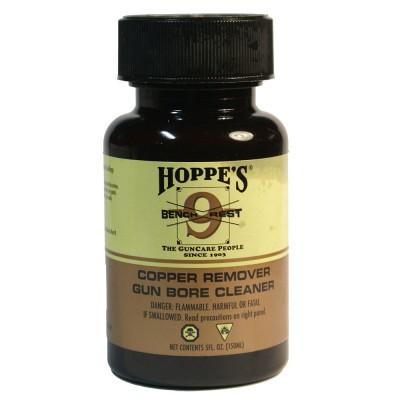 Оружейное масло для чистки ствола от омеднения Hoppe`s Bench Rest, 150 мл