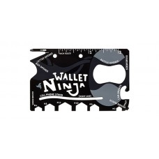 Мультитул кредитка 18 в 1 Ninja Wallet Multitool