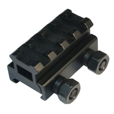 Универсальный переходник с планкой Вивер (Weaver) оптического прибора на планку Weawer оружия 45 мм