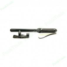 Палка резиновая с металлической ручкой, телескопическая ПР-89