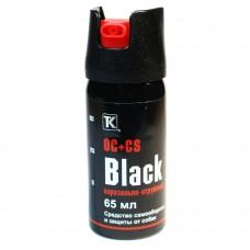 Газовый баллончик Black, 65 мл