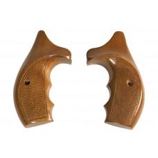 Щечки на револьвер Викинг (большие, орех)