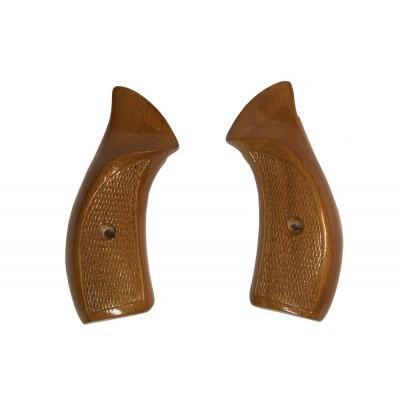 Щечки на револьвер Викинг (малые, орех)