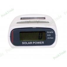Шагомер на солнечных батареях