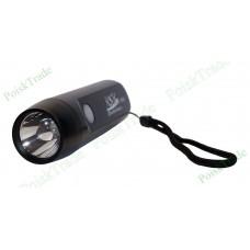 Динамо фонарь с функцией USB подзарядки мобильных устройств