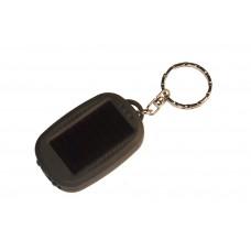 Фонарик - брелок Radiant на солнечной батарее (черный)