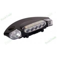 Миниатюрный светодиодный фонарь на козырек кепки -1